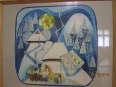 Ручное ткачество Гобелен Авторская дипломная работа  Музей Миколы Биласа Билас 034