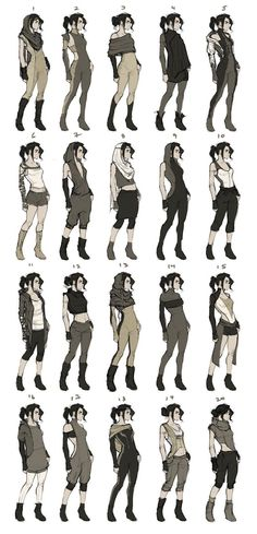 44 New Ideas For Drawing Clothes Outfits Character Design Source by clothes ideas design reference Character Creation, Character Concept, Character Art, Concept Art, Character Reference, Character Poses, Kleidung Design, Poses References, Animation