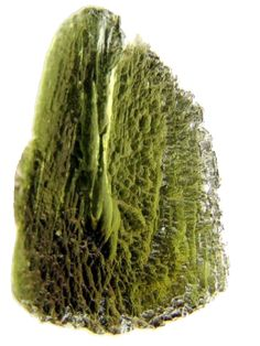 It is believed Moldavite is the outer surface of meteorites that melted and fused together upon impact over 15 million years ago. Created as a result of speed and power, these properties are very evident when working with this mineral. It is an excellent stone to use for physical clearing or spiritual breakthrough and is traditionally associated with the the third eye and heart chakras. It is one of the most powerfully active gemstones.
