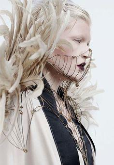 Alexandra Waespi and Alex London are featured in   Dark Beauty Magazine