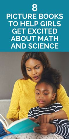 Books to help girls get excited about science and math - my daughter and I love these!