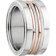 BERING jewellery Women's Ring Set Combination Arctic Symphony Collection asc343