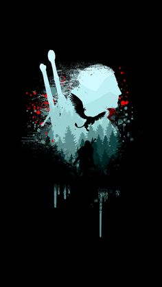 witcher art t shirt The Witcher Wild Hunt, The Witcher Game, Witcher Art, Arte Final Fantasy, Fantasy Art, Gaming Wallpapers, Animes Wallpapers, Witcher Tattoo, Witcher Wallpaper