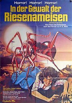 Liebling, schrumpf die Ameise! - Die albernsten Horrorfilmplakate :)