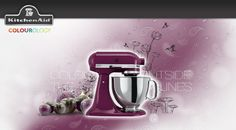 """I just took the KitchenAid Colourology quiz and discovered that I'm Boysenberry, because I always cook with a secret ingredient. What's your colour?    """"As the saying goes, """"life begins outside your comfort zone,"""" and Boysenberry reminds us to live in colour! Young and trendy, this eccentric shade finds a well-deserved place in any modern or eclectic kitchen."""""""