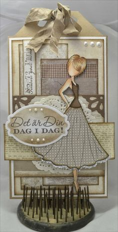 Christinas Scrapkammare: Paper Doll