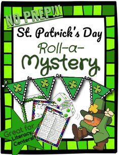 Get into the spirit of St. Patrick's Day with this printable, NO PREP writing exercise that is fun, easy, and creative! Your students will have a laugh at the hilarious and impossible situations they roll with this Roll-a-Mystery. St Patrick's Day, Daily Writing Prompts, Writing Workshop, Kindergarten Writing, Kindergarten Teachers, Roll A Story, Writing Exercises, Class Activities, Have A Laugh