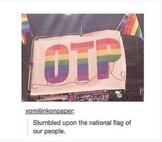 The national flag of our people<<< I have found my home! <<< the Fangirl Nation is rising! Otaku, Fandoms Unite, Tumblr Stuff, Tumblr Posts, The Familiar Of Zero, Manga, Fangirl Problems, Oui Oui, Book Fandoms