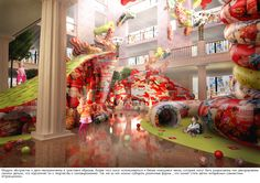 """Concept-project for """"Detsky Mir"""" Central Children Store on Behance"""
