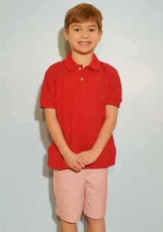 Red Polo Shirt Available at www.thetravelintrunk.com Receive 15% off using coupon code: PIN15