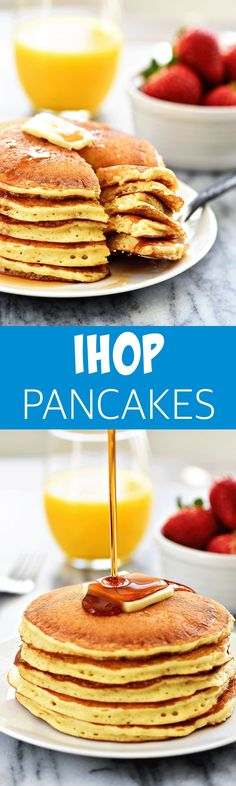 I have to admit it. I love me some IHOP pancakes. Breakfast is one of my favorite meals to eat at restaurants, though it's funny, because I'm normally a savory foods girl. I like to order chicken fried steak, bacon or eggs. BUT there's always an exception when we go to IHOP. I always get their... Read More »