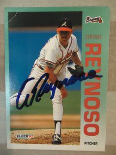 1992 Fleer #367 Armando Reynoso (In Person)