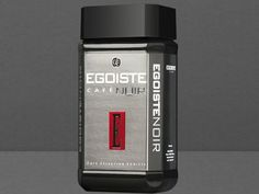 Busy morning shortcut: Egoiste Café Noir is the first instant coffee our food editors have tried that actually tastes good (even if the packaging looks like men's cologne)