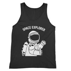 Space Explorer – My Main Tees Bye everyone, I'm off to find a better planet - with unlimited pizza and nice weather ALL the time. Also available in t-shirt, v-neck and sweatshirt. Life Form, Outer Space, New Life, Maine, Size Chart, Tank Man, Shirt Designs, Pizza, Weather