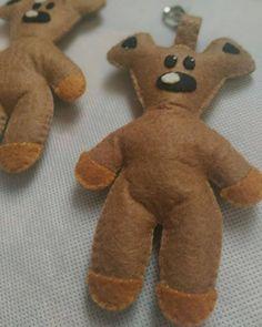 Adorable Teddy buddy  #plushies #kawaii #feltcraft #handmade Felt Crafts, Plushies, Dinosaur Stuffed Animal, Kawaii, Craft Ideas, Toys, Gifts, Handmade, Animals