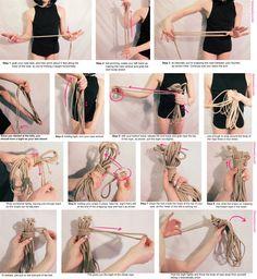 Shibari Tutorial Rope Wrap