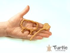 Wooden shawl pin Sweater clasp Shawl stick Scarf by TurtleWorkshop