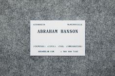 HANSON + HANSON — Number 04