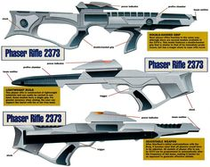 Weapon Specifications - STAR TREK™ FEDERATION WEAPONS (STFW)