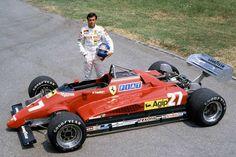 Patrick Tambay joins Ferrari in 1982 after the death of Gilles Villeneuve.
