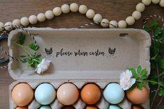 Egg Carton Rubber Stamp - Farm Stamp - Fresh Chicken Eggs - Chicken Stamp - Please Return Carton Stamp Fresh Chicken, Chicken Eggs, Lavender Stamp, Egg Stamp, Star Farm, Custom Rubber Stamps, Farm Stand, Wood Stamp, Hobby Farms