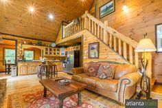 Blue Ridge Cabin Review: Hawks Nest Cabin near Aska Adventure Area from Southern Comfort Cabin Rentals