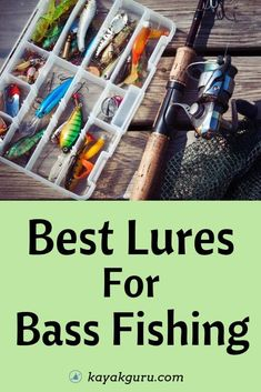 Best Lures For Bass Fishing - To catch more bass you need a decent lure. Here's our favorite 9 bait types Best Lures For Bass Fishing - To catch more bass you need a decent lure. Here's our favorite 9 bait types Best Bass Fishing Lures, Bass Fishing Videos, Bass Fishing Boats, Walleye Fishing, Best Fishing, Fishing Bait, Fishing Tackle, Fishing Rods, Fishing Pliers