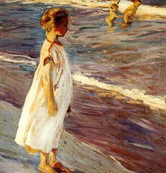 Joaquim Sorolla i Bastida (1863-1923). Menina.