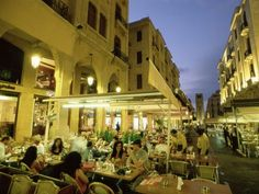 Cafe in Beirut, Lebanon