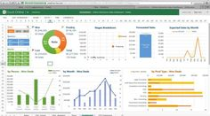 Dashboard Design, Kpi Dashboard Excel, Excel Dashboard Templates, Sales Dashboard, Dashboard Examples, Online Dashboard, Dashboard Interface, Ui Ux, Project Management Dashboard