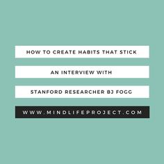 Powerful teachings on how to create habits that stick from one of the world's leaders in habit formation - BJ Fogg. Guided Mindfulness Meditation, Mindfulness Training, Habit Formation, Waxing And Waning, Make You Believe, Course Offering, All Or Nothing, Transform Your Life, Willpower