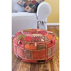 Traditional Indian Poufs