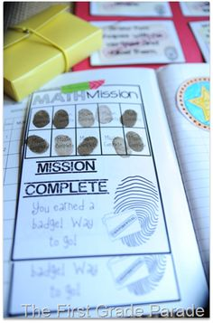 """math missions"" for math detectives- math tasks for early finishers"