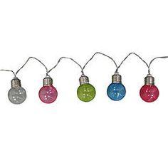 Essential Home Multicolor Lantern Balls String Lights (festoon style) - KMart, $12