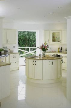 Round Kitchen Island kitchens - night and day | fired earth | kitchen | pinterest