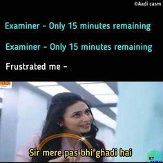 Funny Best Friend Memes, Latest Funny Jokes, Funny Jokes In Hindi, Funny School Jokes, Very Funny Jokes, Crazy Funny Memes, Really Funny Memes, Hilarious Memes, Exams Funny