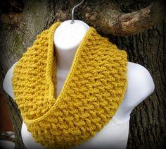 Crochet Scarf Pattern  Weave Infinity Scarf  by SeeJaneCrochet