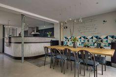 Loft in Paris by Murs et Merveilles « HomeAdore Loft Paris, Dining Table, Inspiration, Furniture, Home Decor, Board, Interior, Walls, Biblical Inspiration