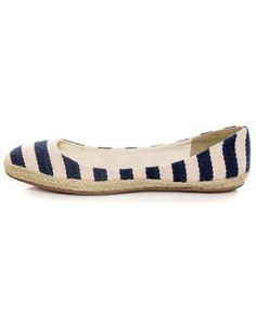 Striped Navy Shoes! #LuLu's