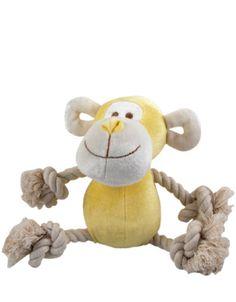 Simply Fido Bamboo Rope Monkey