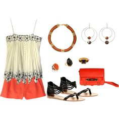 """Tangerine"" by bethherrmann on Polyvore"