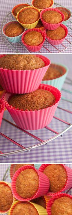 Si todavía no has probado a hacer Magdalenas de Plátano con Canela, les presento las mejores del mundo!  #magdalena #magdalenas #platano #canela #pan #panfrances #pantone #panes #pantone #pan #receta #recipe #casero #torta #tartas #pastel #nestlecocina #bizcocho #bizcochuelo #tasty #cocina #chocolate   Si te gusta dinos HOLA y dale a Me Gusta MIREN …