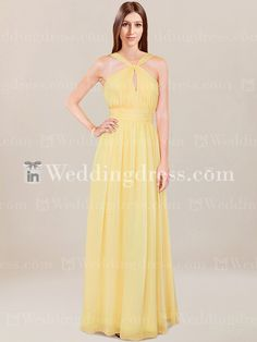 Informal Bridesmaid Dress with Y-Neck BR525 $198.99 Bridesmaid Dresses