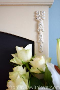 shabby-chic-decorative-moulding-rose