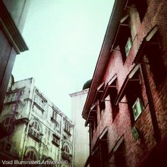 another piece on buildings in Kuala Lumpur city, by Void Illuminated Artworks, Photo from the Instacanvas gallery of zhamlucan.