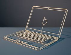 Desenhos no Espaço: objetos do dia a dia são reproduzidos em esculturas de wireframe