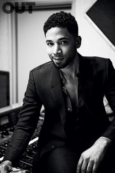 Jussie Smollett photographed by Michael Muller for Out magazine (view slideshow)