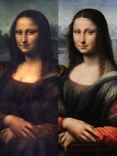 Mona Lisa ~ Thought to be at least 15 copies made of the original painting