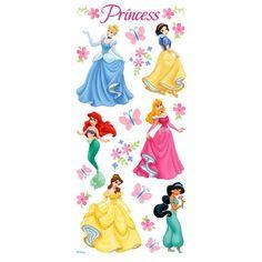 ©Disney Princess Glitter Stickers