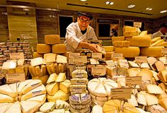 Retail VM | Cheese Display | Supermarket Design | There are 300 cheeses to choose from in the new Kensington Whole Foods store | bahighlife.com, the website for British Airways High Life magazine